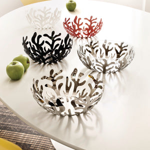 Alessi Mediterraneo Fruit Bowl Red