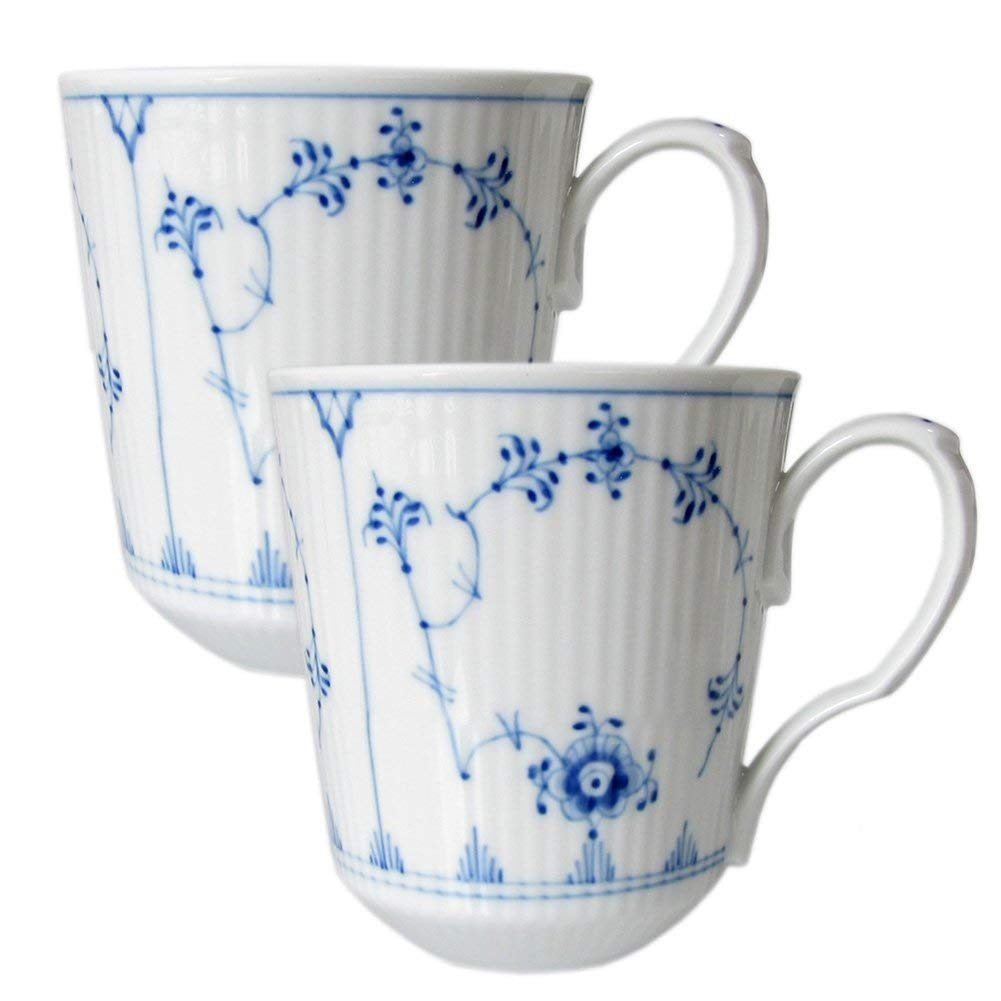 Royal Copenhagen mugs, set of 2.