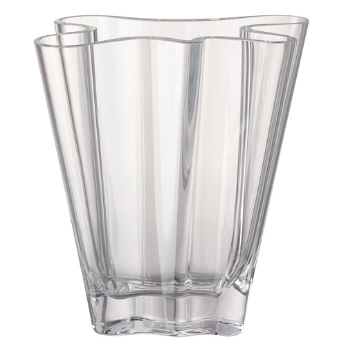 "Rosenthal Vase Collection ""Flux"" Clear"