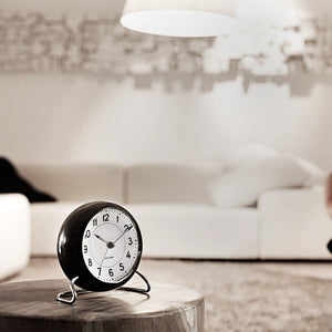 Rosendahl Station Green Alarm Clock