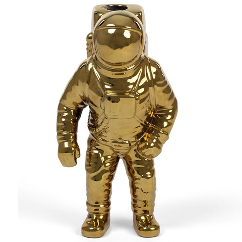Seletti Cosmic Dinner Starman Vase Gold