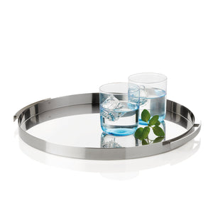 The classic but at the same time modern shape of the tray is an ornament in your kitchen, dining room or office.