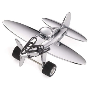 Troika multi functional airplane shaped desk object.