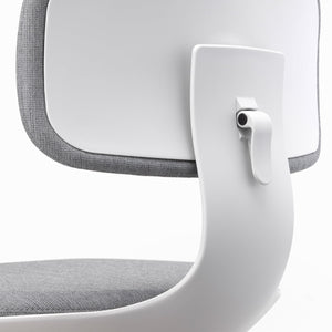 Vitra Rookie Office Swivel Chair Cream White/ Sierra Grey