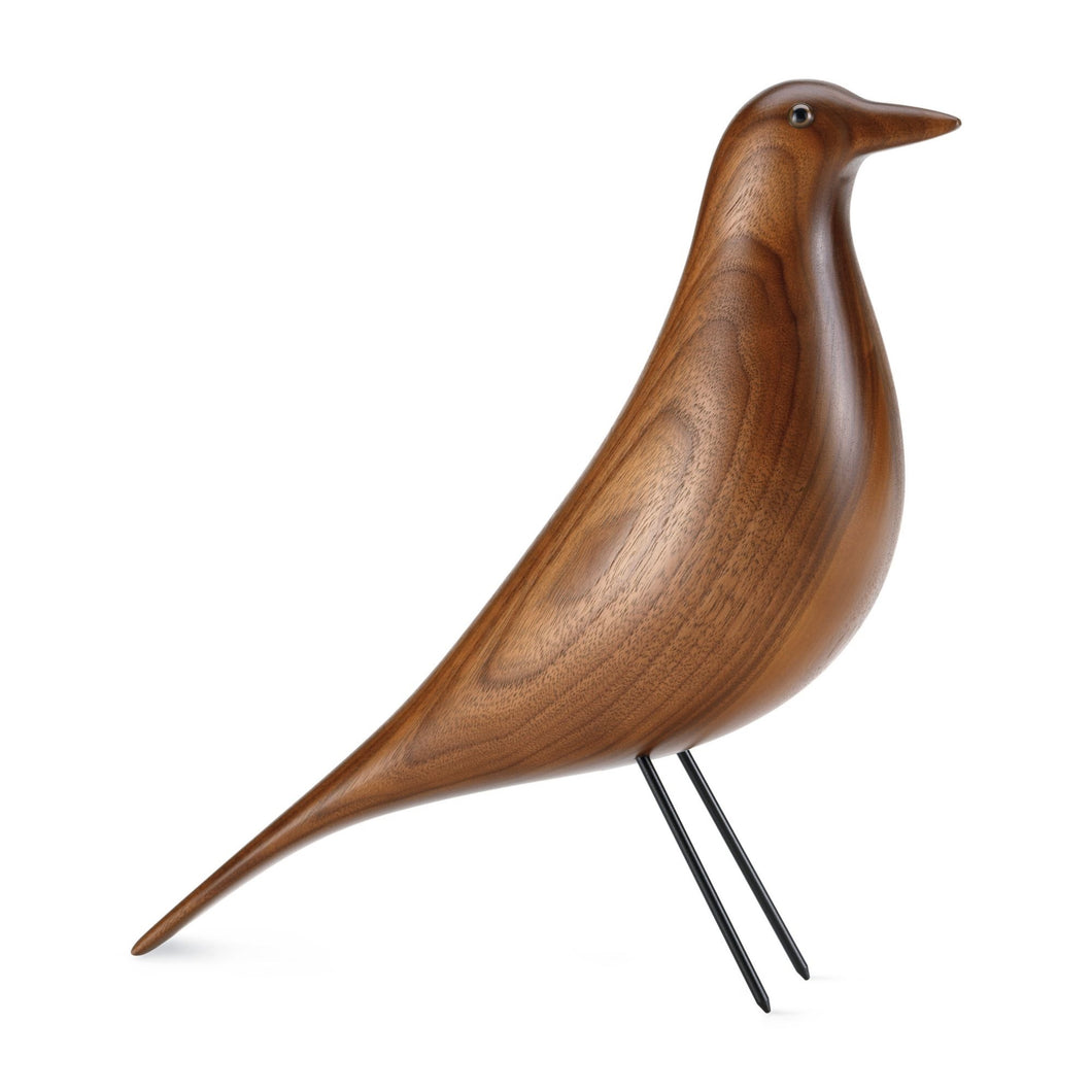 Vitra house bird made of solid walnut, approx 12