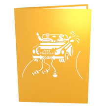 Lovepop Pop Up Greeting Card Wedding Car