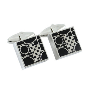 Cufflinks Coonley Playhouse by Frank Lloyd Wright