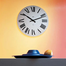 Alessi Firenze Wall Clock White
