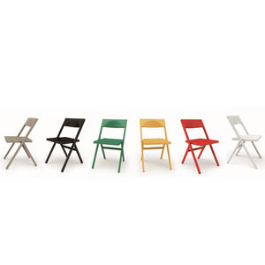 Alessi Piana Folding Stackable Chair