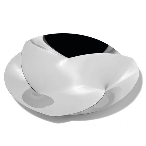 Alessi Fruit holder in 18/10 stainless steel mirror polished.