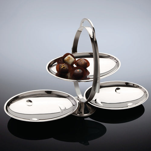 Alessi Anna Gong Folding Serving Stand