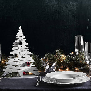 Alessi Bark for Christmas, Christmas Tree in Polished Steel