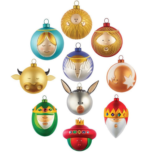 Alessi Christmas Bauble Ornament Le Palle Presepe