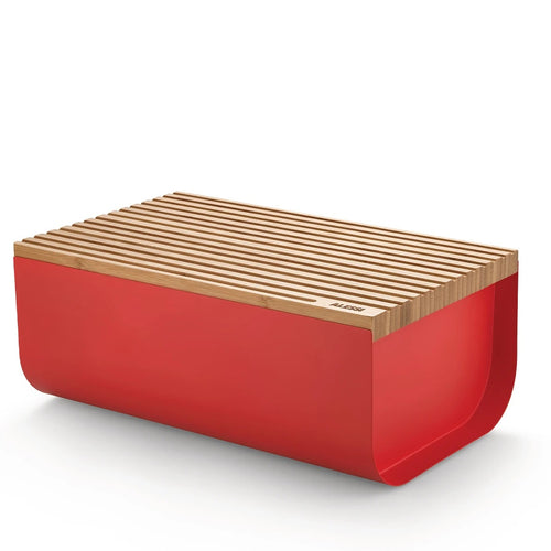 Alessi Mattina Bread Box Red