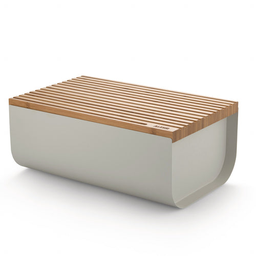 Alessi Mattina Bread Box White
