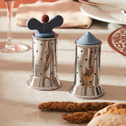 Alessi Michael Graves Salt, Pepper Collection