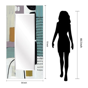 Glass Art Print Wall Mirror Introductions