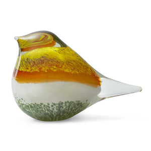 Octaevo Atlas Glass Bird Yellow