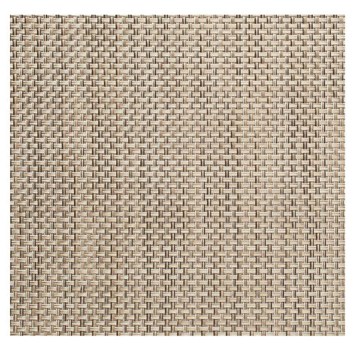 Chilewich Basketweave Square Mat Latte