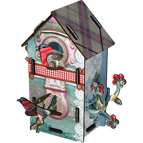 Miho Unexpected Decorative Birdhouse Playmates