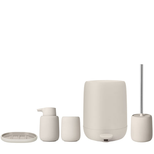 Blomus SONO Bathroom Accessories in Moonbeam (Cream)