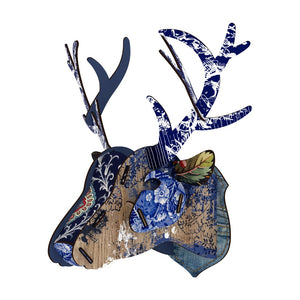 Miho Decorative Wall Sculpture Trophy Deer Head Breaking News