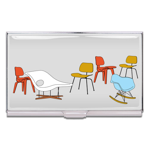 Acme Studio Card Case Chairs by Charles and Ray Eames