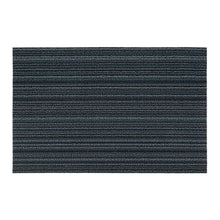 Chilewich Shag Skinny Stripe Blue Doormat