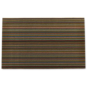 Chilewich Shag Skinny Stripe Bright Multi Doormat