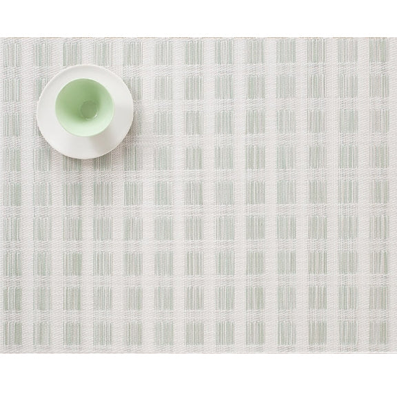 Chilewich Stitch Jade Placemat 14