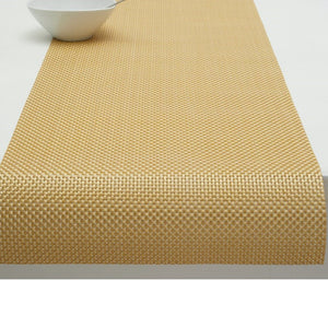 Chilewich Basketweave Gilded (Gold) Collection
