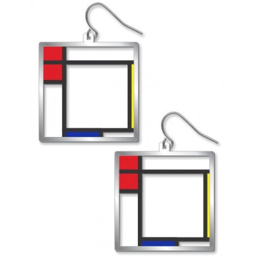 Art and Architectural Jewelry Earrings Composition