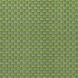 "Chilewich Placemat Basketweave Grass Green Rectangle 14"" x 19"""