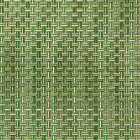 Chilewich Placemat Basketweave Grass Green Rectangle 14