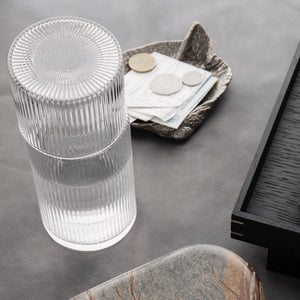 Ferm Living Ripple Glass Carafe Set