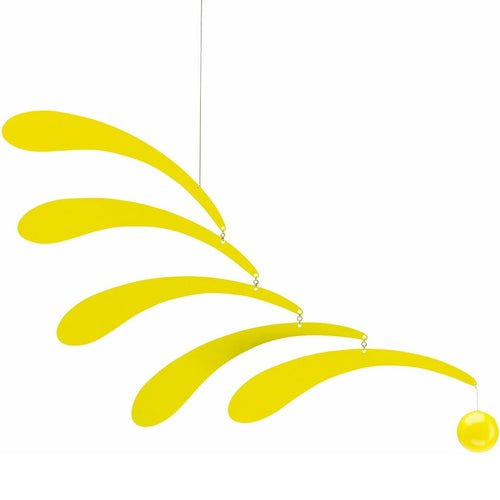 Flensted Mobile Flowing Rhythm Yellow