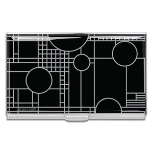 Card Case Coonley Playhouse Black by Frank Lloyd Wright