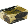 Rex Ray Lacquer Wood Decorative Box Medium Heliotropie