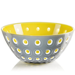 Guzzini Le Murrine Bowl Grey/White/Yellow