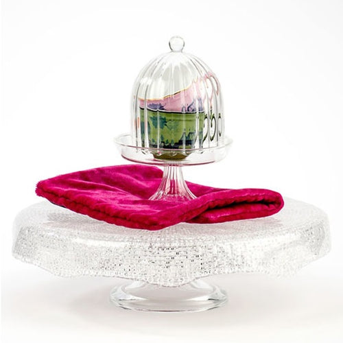 Diamante Footed Cake Stand