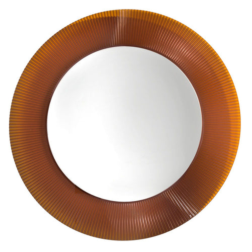Kartell All Saints Wall Mirror Amber