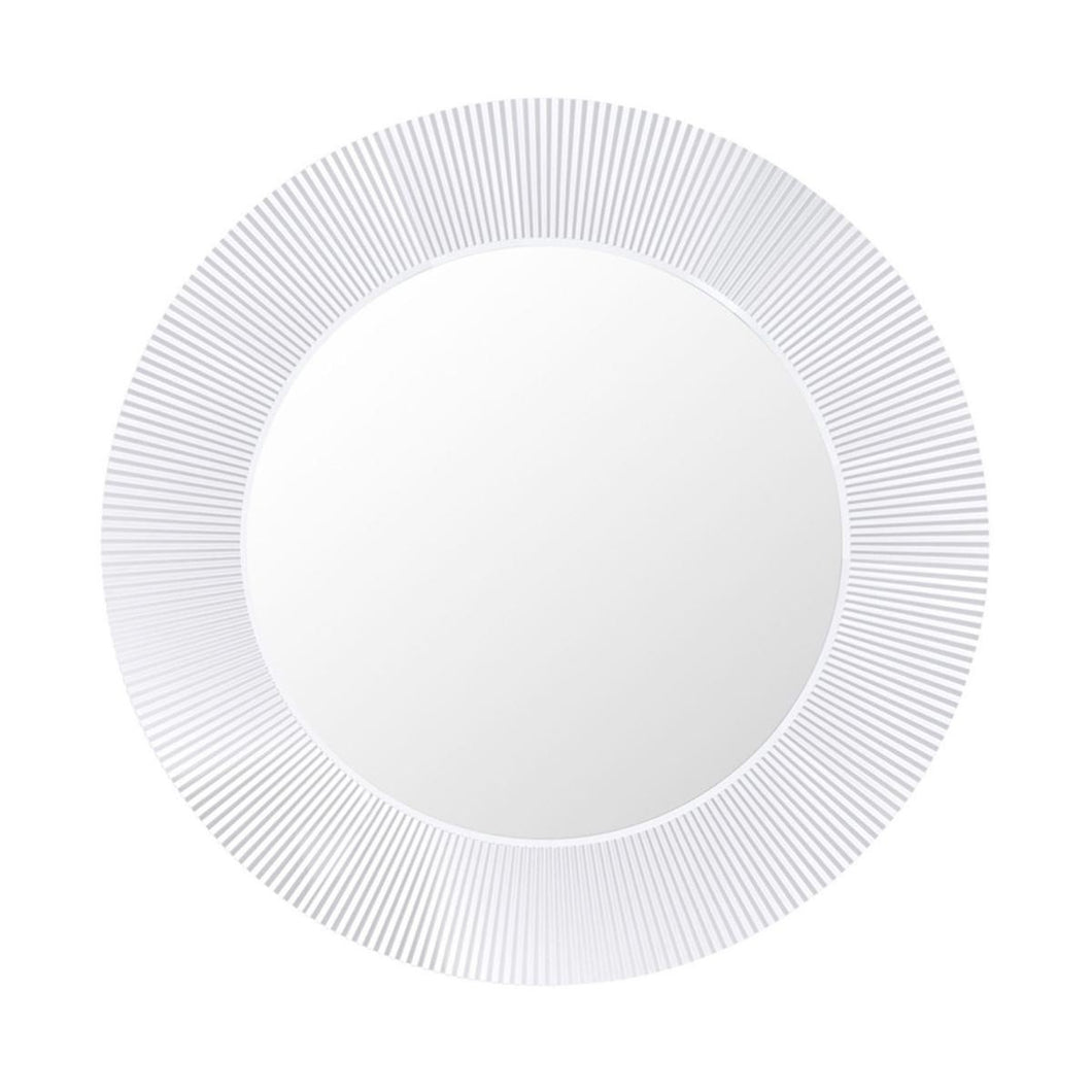 Kartell All Saints Wall Mirror Glossy White