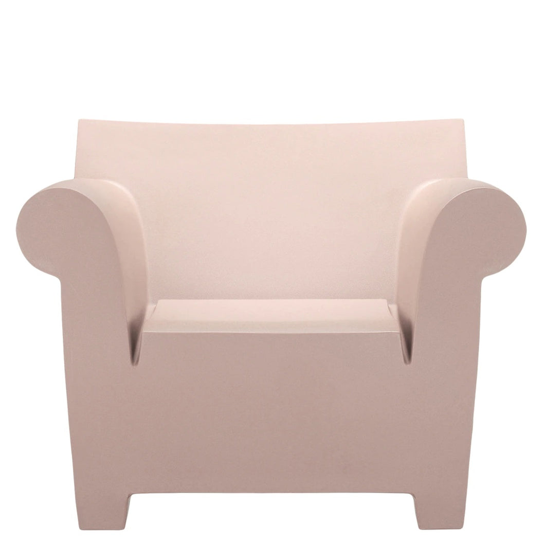 Kartell Bubble Club Chair Dusty Pink