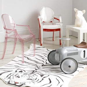 kartell ghost chair for kids