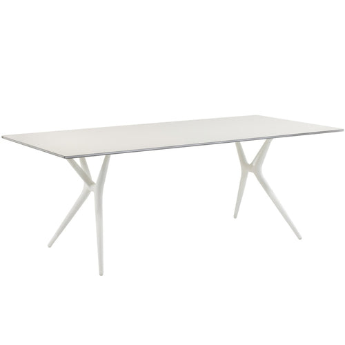 Kartell Spoon Table White by Antonio Citterio (2007)