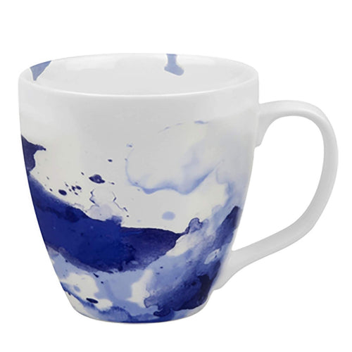 Mug On Color Seeing Blue