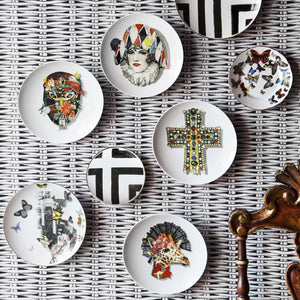 Christian Lacroix Love Who You Want Dessert Plate Miss Harlequin