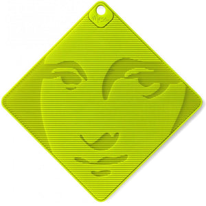 Mona Lisa Silicone Grip and Trivet Green