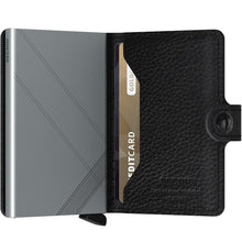 Secrid Mini Wallet Stitch Linea Black