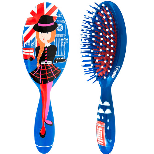 Pylones Ladypop Hairbrush Small (More Designs)